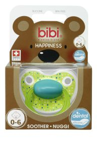 Bibi - Soother Silicone - Lovely Dots - 0-6 Months
